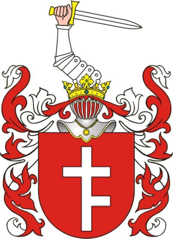 Herb rodowy rodziny ANDRZEJEWSKICH ( Prus I)