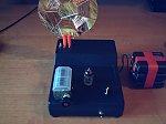 Lampowy bateryjny odbiornik z detektorem kryształkowym