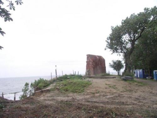 #Trzęsacz #morze #ruiny #klif #kościół
