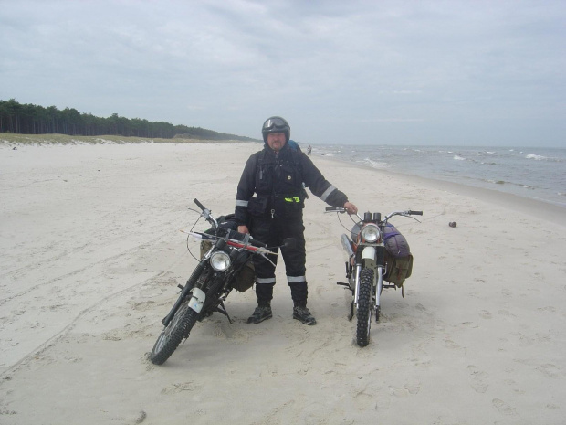 #rajd #morze #bałtyk #wsk #sport #m21w2 #W2B #SO1 #świdnik #PredomDezamet #romet #simson #suzuki #yamaha #honda #kawasaki