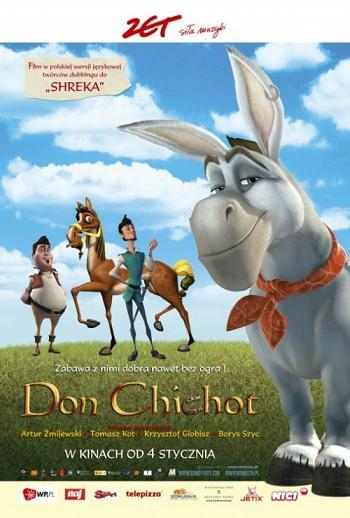 Don Chichot / Donkey Xote (2007) | DVDRIP XviD | DUBBING PL