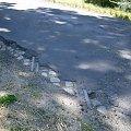 Opalenicka Kd teraz... zaasfaltowany przejazd w Rudnikach, dawne odbicie na Sędziny. 2 lipca 2008 r. #OpalenickaKd #Opalenica #wąskotorówka