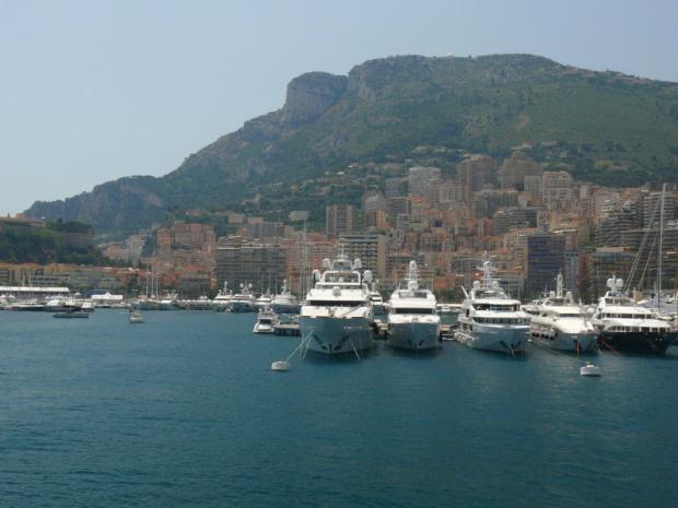 Widok z Jardin Exotique #MonacoIMonteCarlo