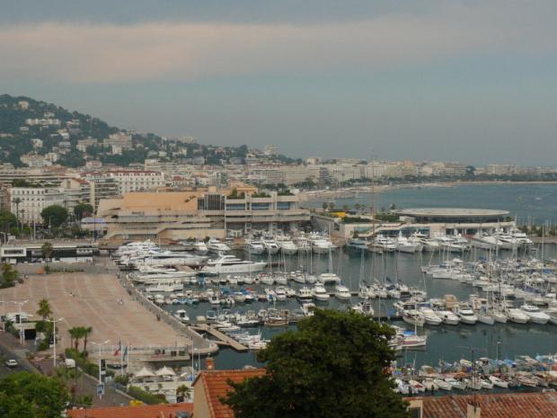 Cannes - najwyższej rangi kurort :) #LazuroweWybrzeże