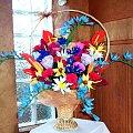 kwiaty: bibu�a i krepina