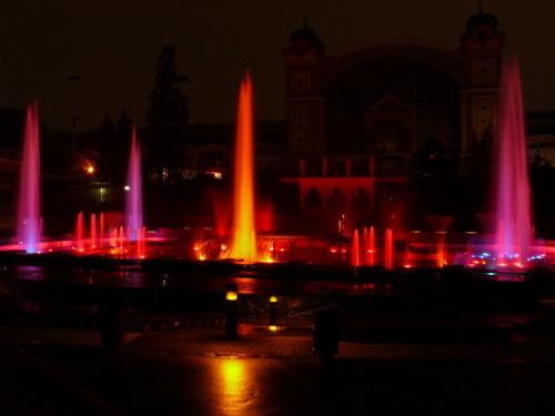 Krizikova Fontana - pokaz światło i dżwięk #Praga