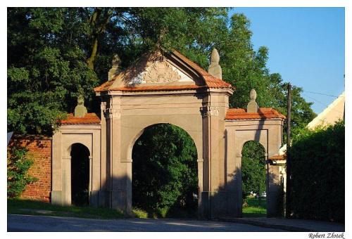 Brama pałacowa w Żerkowie #Żerków #zamek