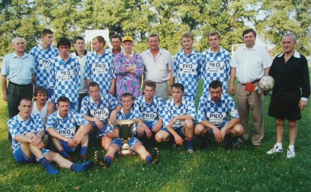 LKS Hortex Ryki zdobywca pucharu burmistrza Ryk 1997 #Ryki