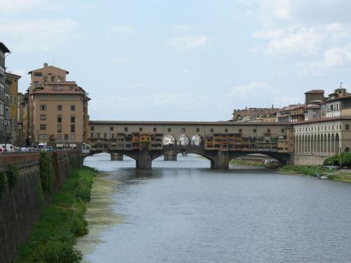 Ponte Vecchio z 1345r. #Florencja #Włochy #Toskania