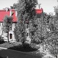 stoki czerwone #Łódź #Lodz #stoki #pieniny #kolor #blok #dach